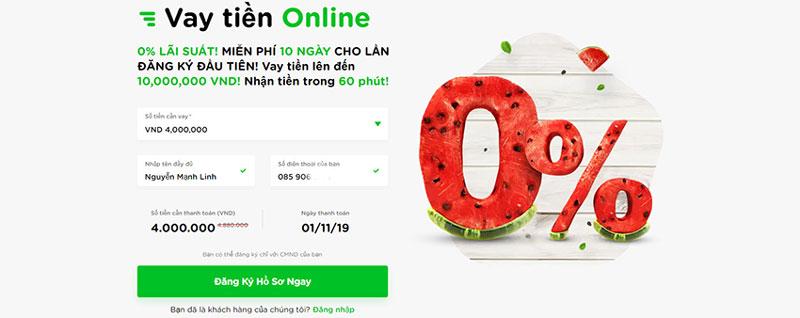Top 9 Vay tiền nhanh online không cần thế chấp