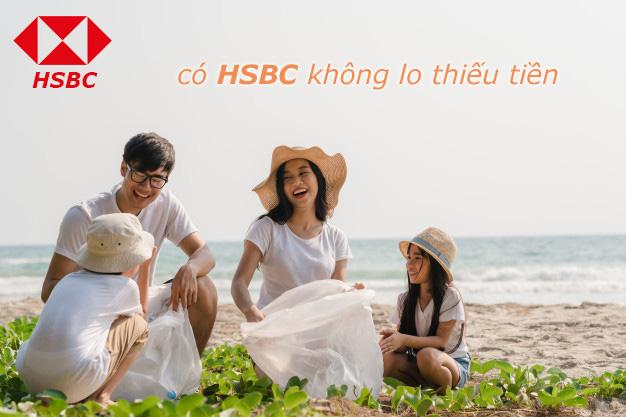 Hướng dẫn vay tiền HSBC không thế chấp