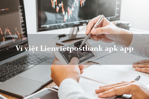 Ví việt Lienvietpostbank apk app