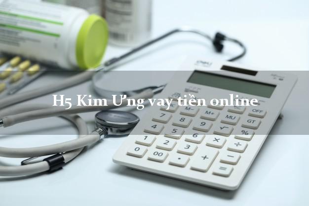 H5 Kim Ưng vay tiền online bằng CMND/CCCD